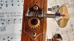 Open gear tuners
