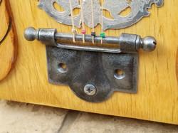Antique door hinge tailpiece