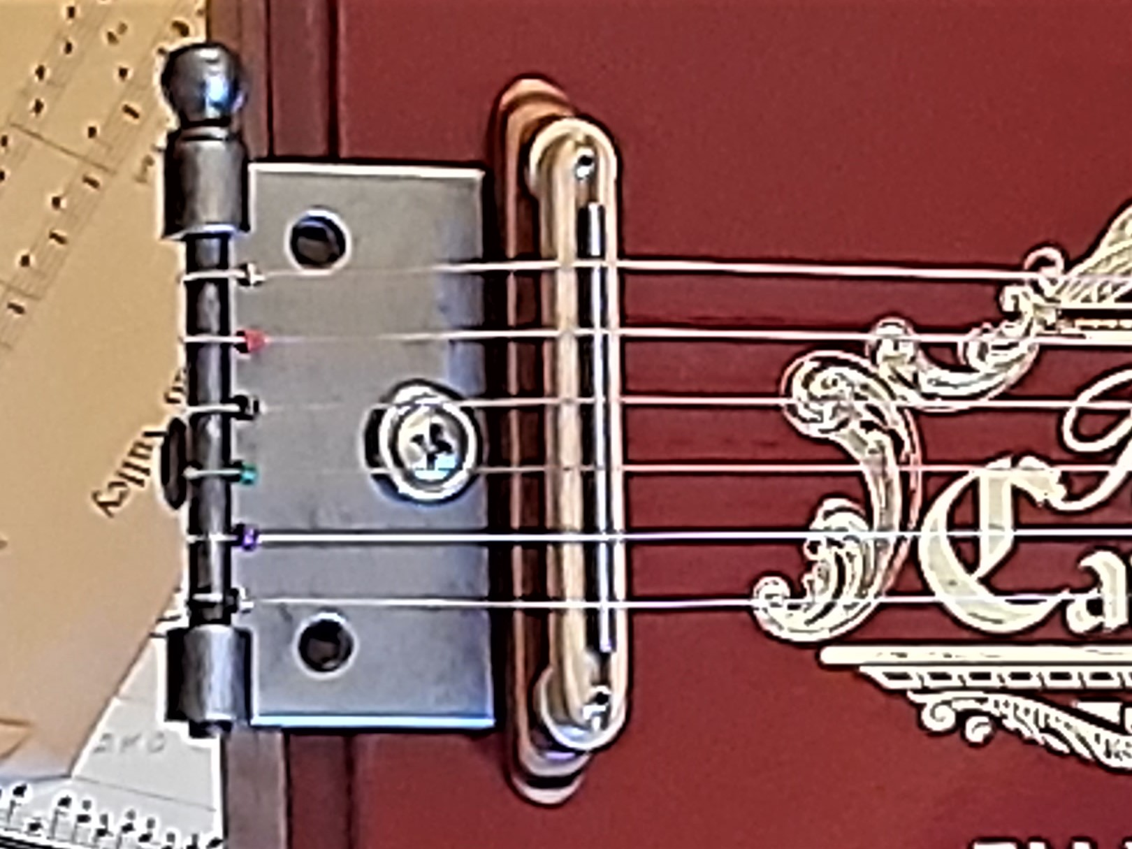 Door Hinge Tailpiece