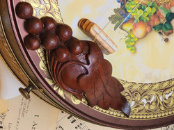 Wood Carved Drawer Pull