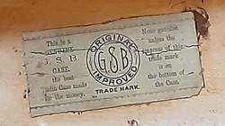 Original GSB Decal