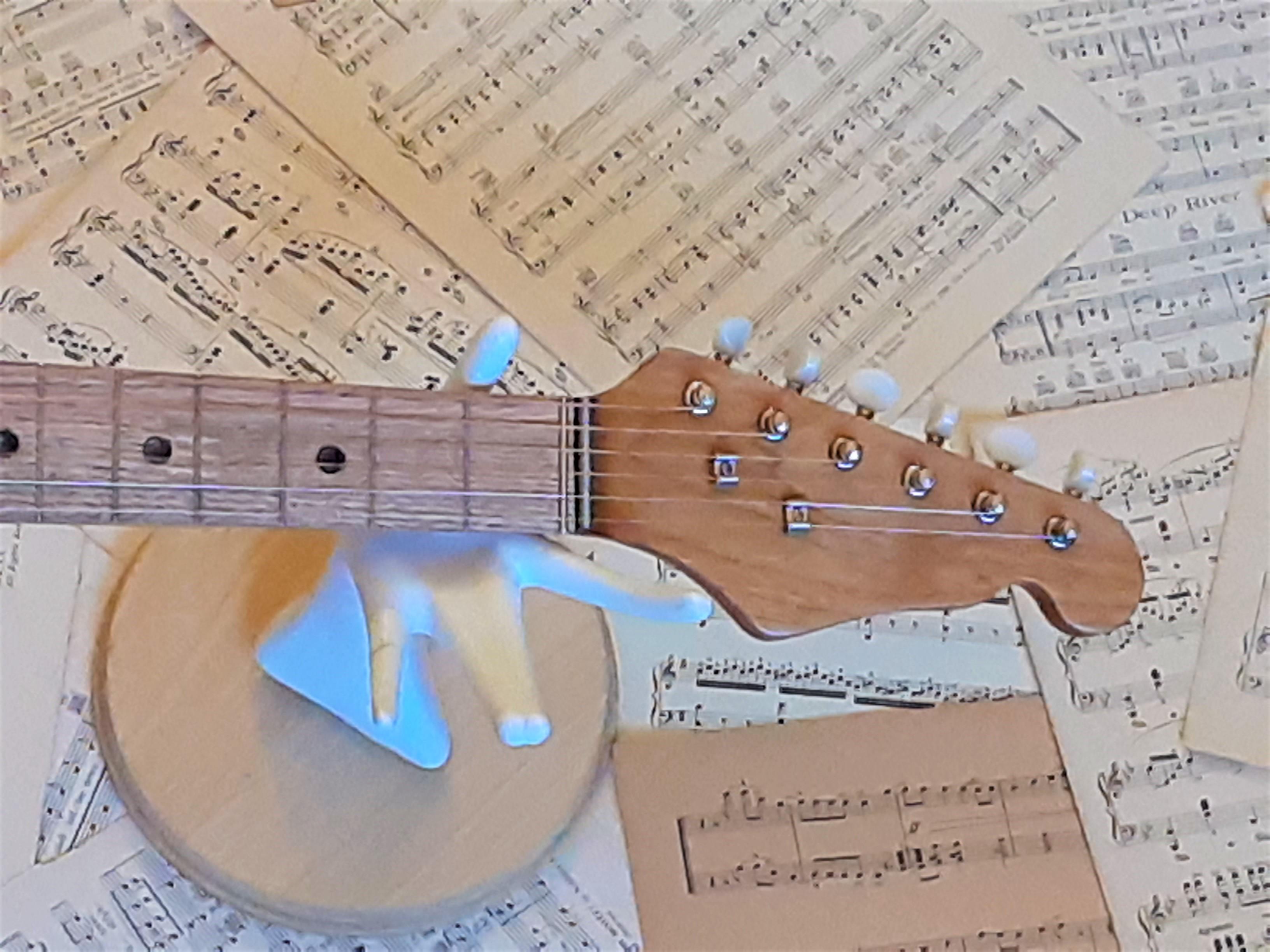"Fender Style ""Stratocopy"" Neck/Headstock"