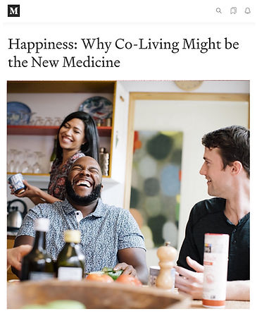 Treehous - Why Co-Living Might be the New Medicine