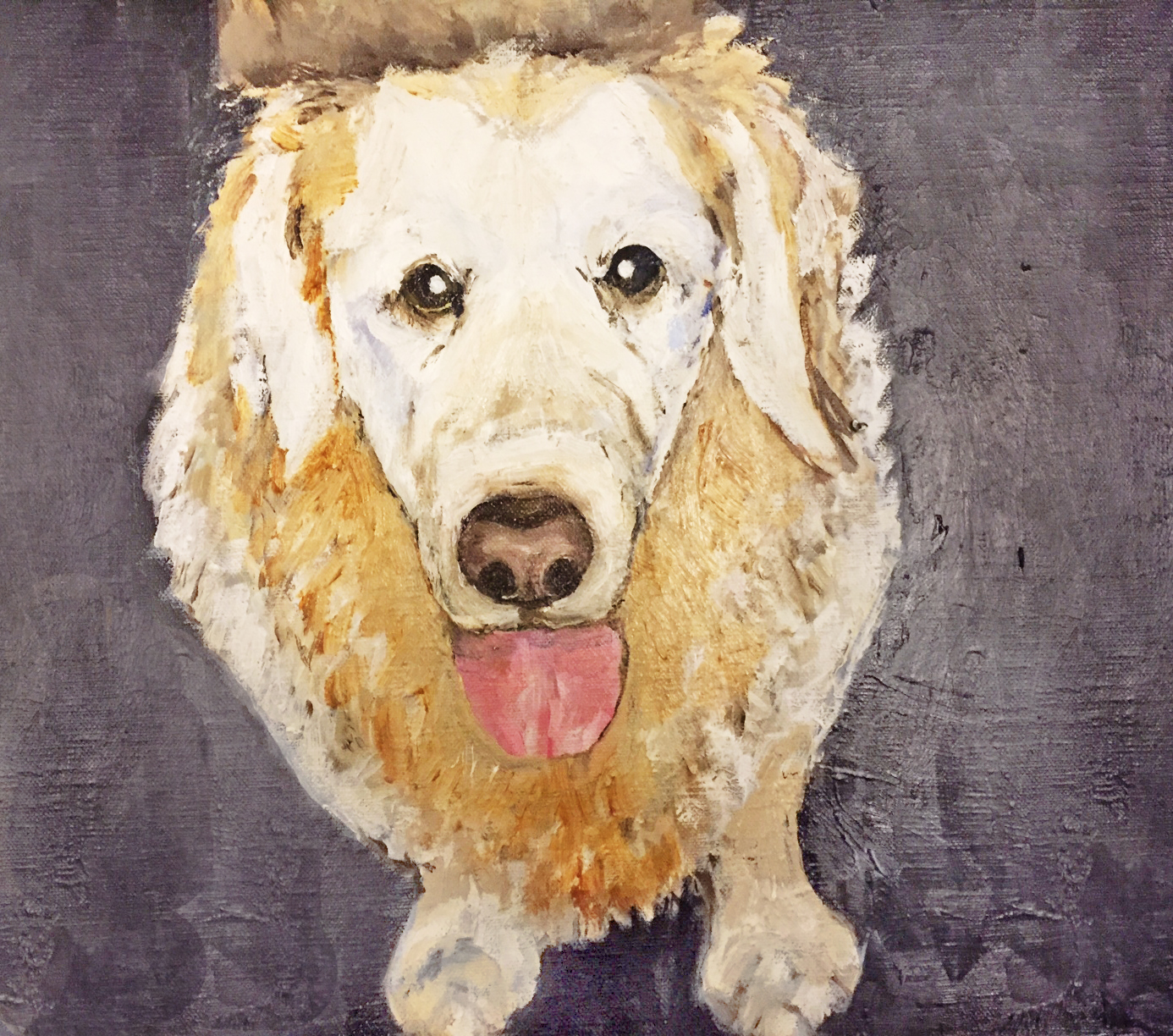 Pet portrait by Art by Divya