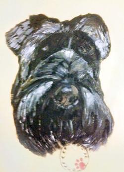 Pet portrait by Art by Divya