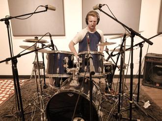 Drum session in our studio