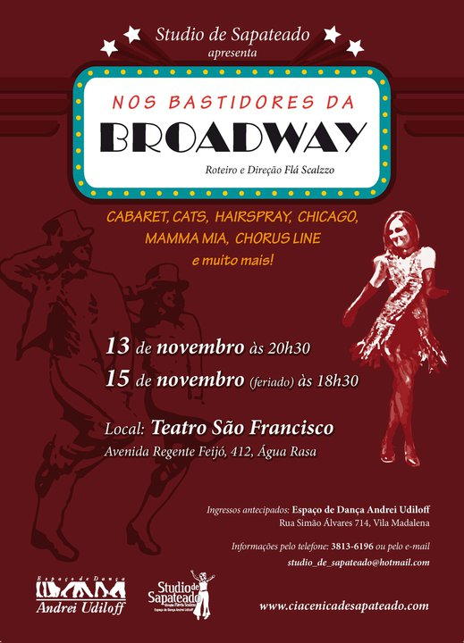 Nos Bastidores da Broadway