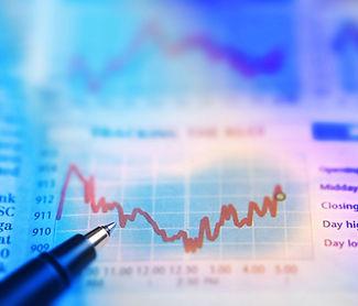 Stockmarket chart