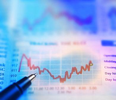 新聞の株価チャート