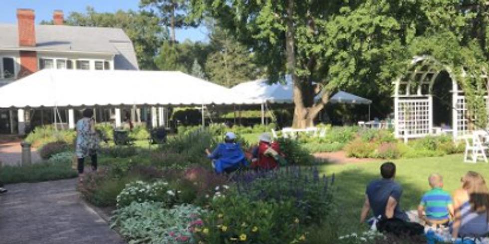 Junior Wilson LIVE @ FLOWERS AFTER 5 - Lewis Ginter Botanical Garden