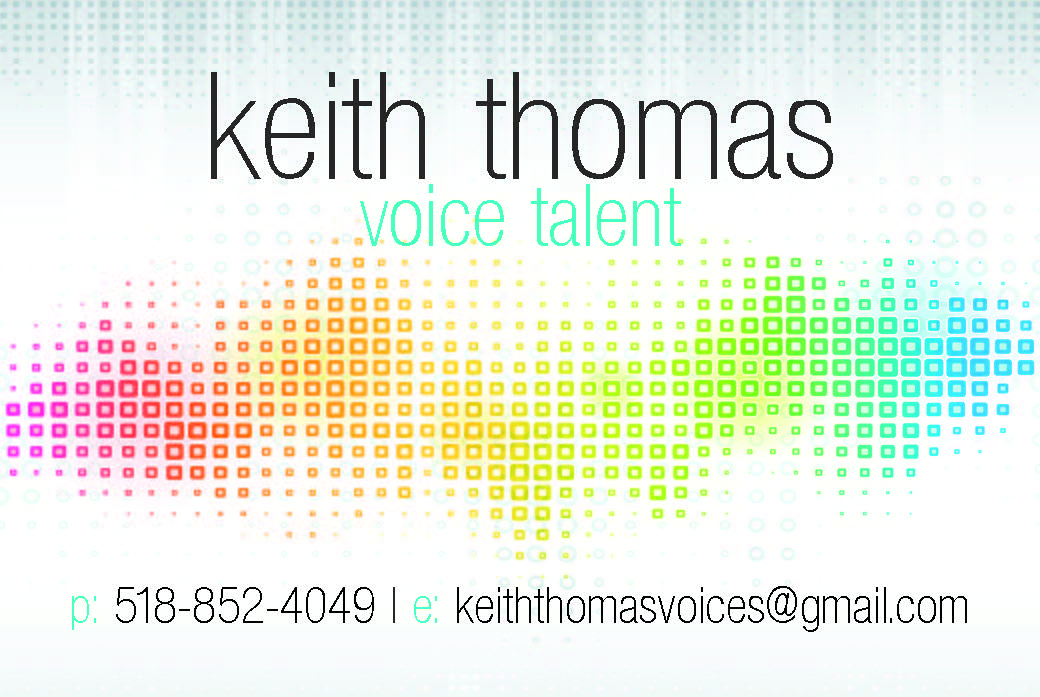 Keith Thomas Voices Demos