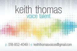 Keith Thomas Voices Demos