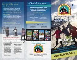 Out Of Control Ski Club Brochure