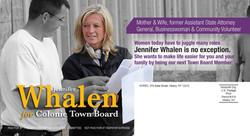 Jennifer Whalen for Town Board