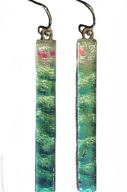 Gloridized Bar Earrings