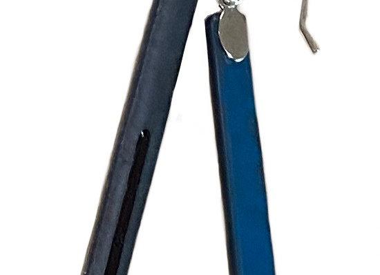 Steel Bar Earrings