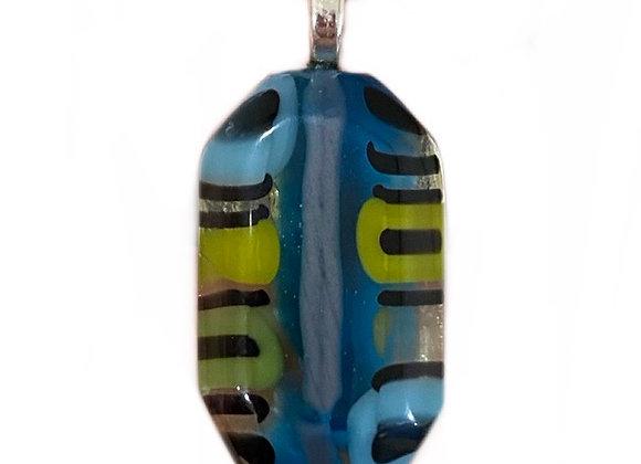 Octagon Butterfly Body Pendant