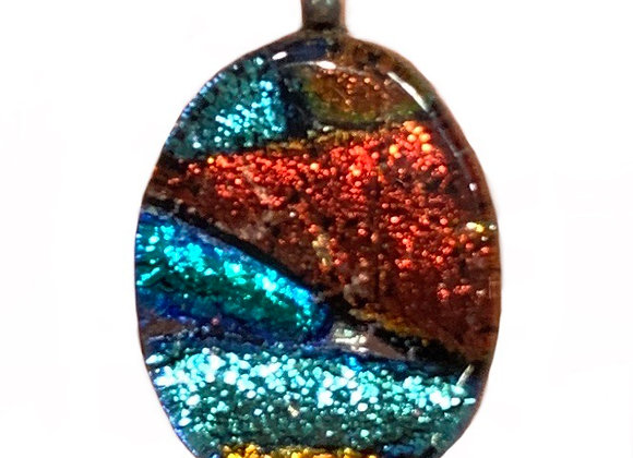 Red Colorburst Pendant