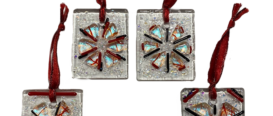 Andy's Challenge Ornaments Set of 4