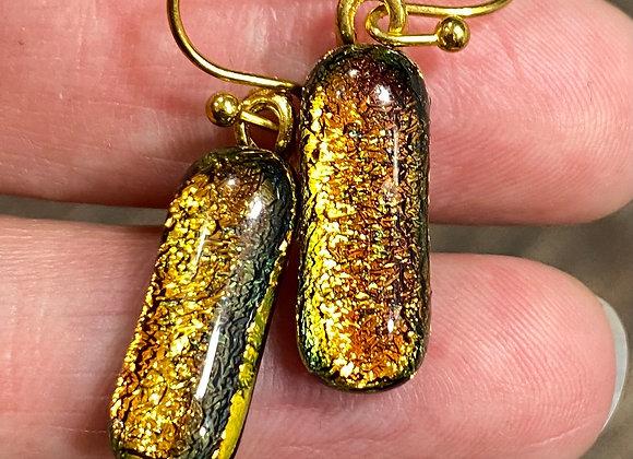 Molten Gold Dangles 2-136