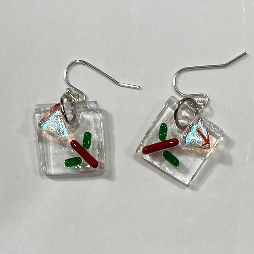 MCM Christmas Earrings