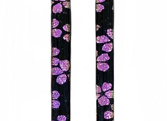 Pink Island Flower Bar Earrings