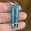 Thumbnail: Emerald Green Bar Earrings