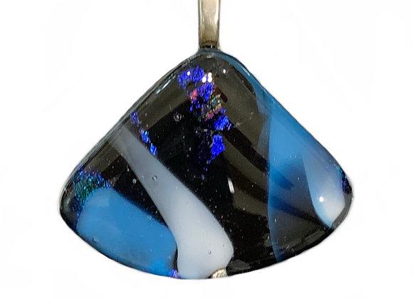 Blue Triangle Pendant