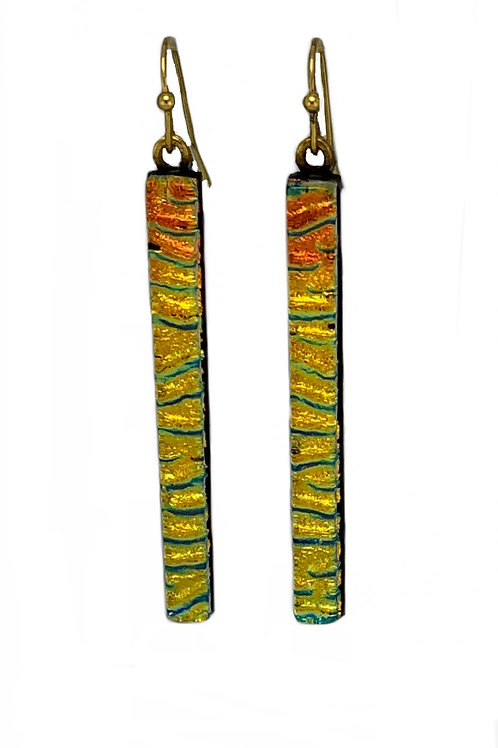 Grass Sunset Earrings