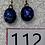 Thumbnail: Cosmos Oval Dangles - 2-112