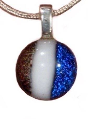 Red, White and Blue Pendant