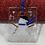 Thumbnail: Mini Snowman Ornament Blue