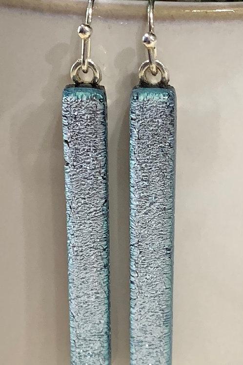 Silver Bar Earrings