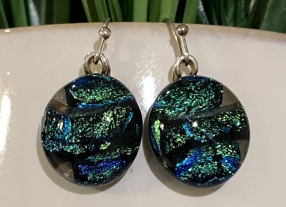River of Green Earrings
