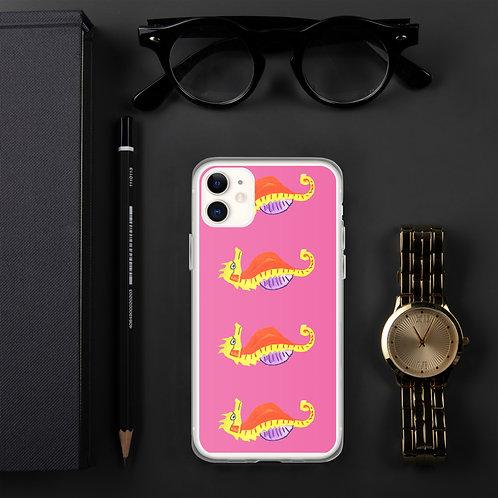 Reading Seahorse iPhone Case