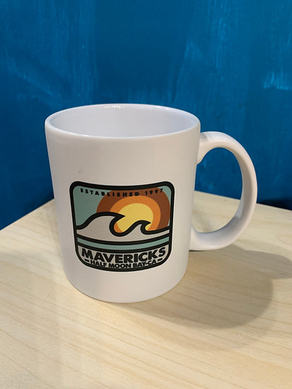 Mavericks Matte Mug