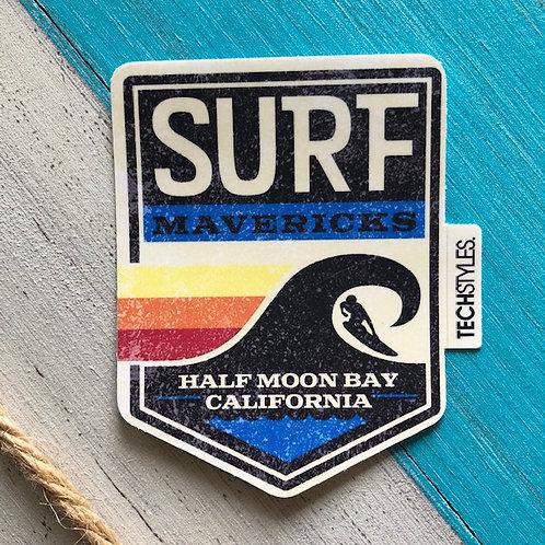 Con Emby Stripes Sticker