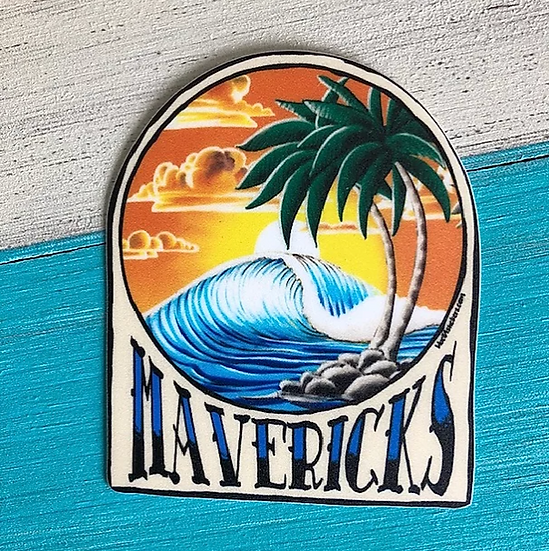 Sunset Palms Sticker