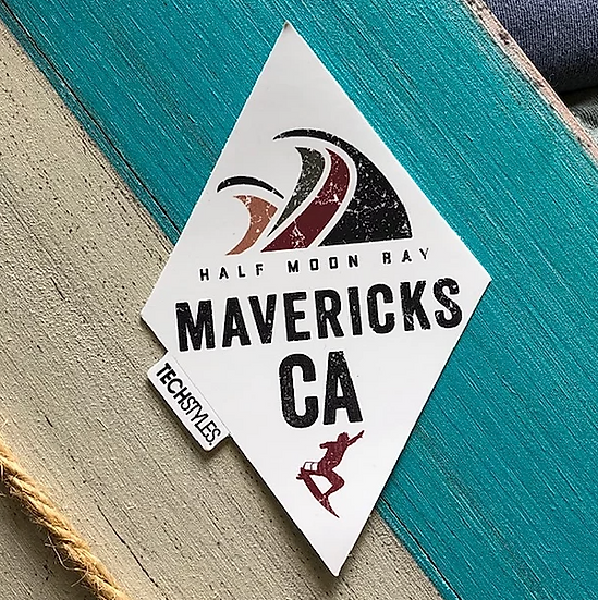 White Diamond Mavs Sticker