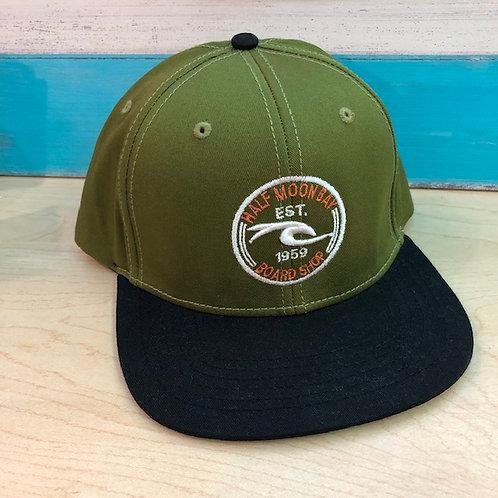 Old World Wave Snapback Hat