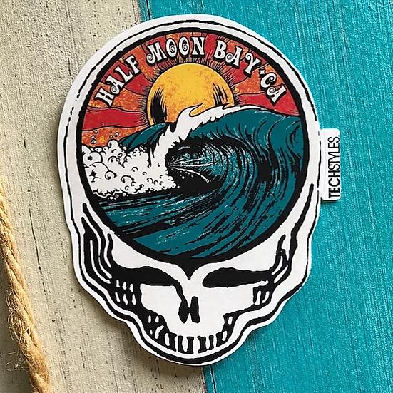 Big Skull Set Sticker