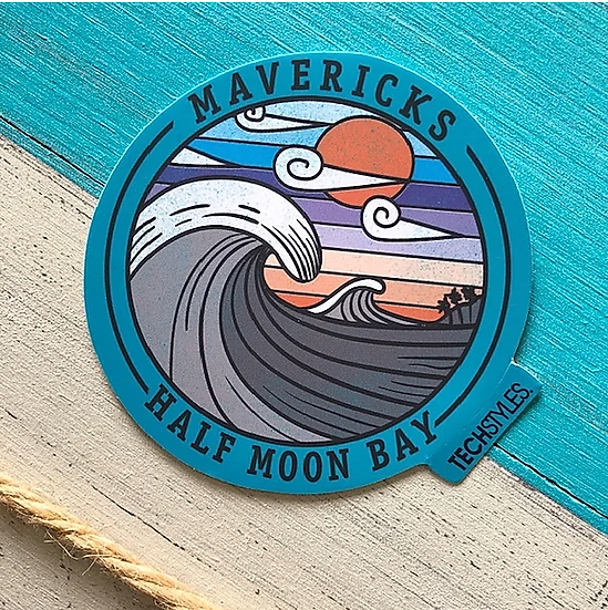Aqua Heaven Sticker