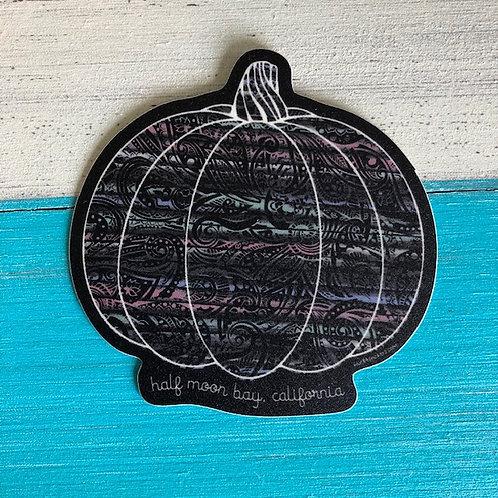 Psychic Pumpkin Sticker