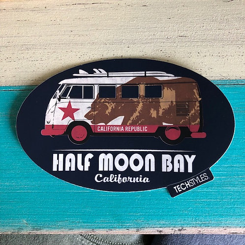 VW Bear Bus Sticker
