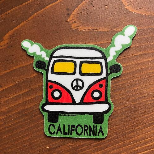 Smokin' Bus Magnet