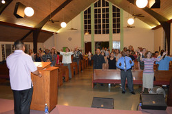 Revival song service