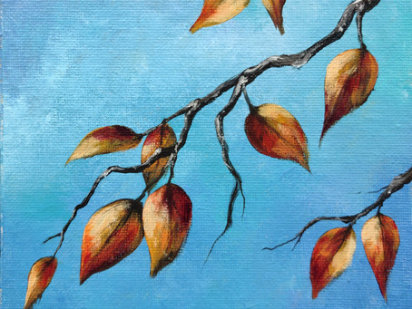 Intuitive Painting #2 - Autumn Leaves