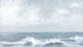 Intuitive Painting #6 - Seaside Morning
