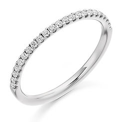 1.6mm band diamond claw setting round brilliant cut wedding eternity ring wiltshire swindon avon bri