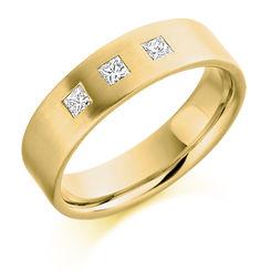 princess cut mens diamond ring channel setting man wedding engagement ring for him gents